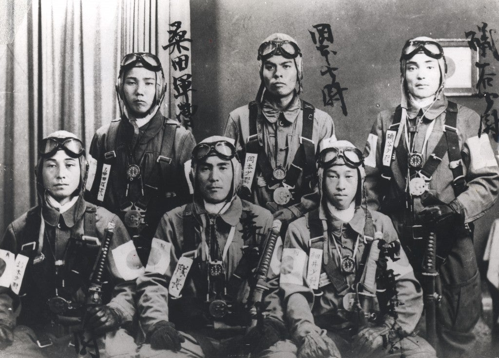 Japanese suicide pilots who were used to attack Pearl Harbor. (Photo: Keystone Pictures/Newscom)