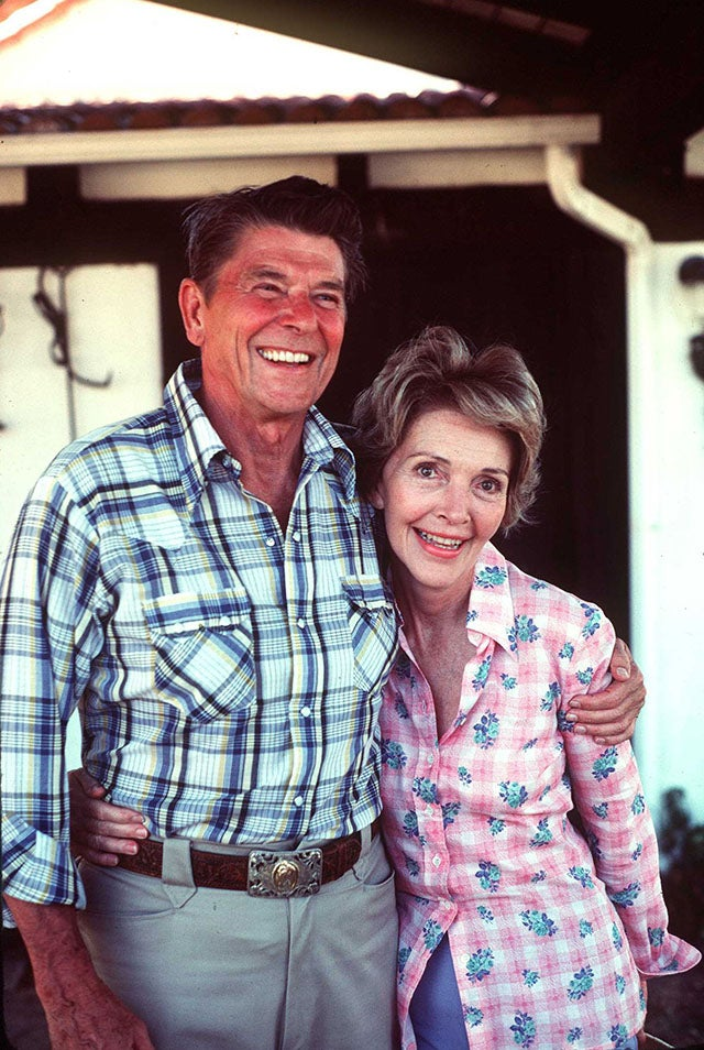 Nancy Reagan Supports Stem Cell Research