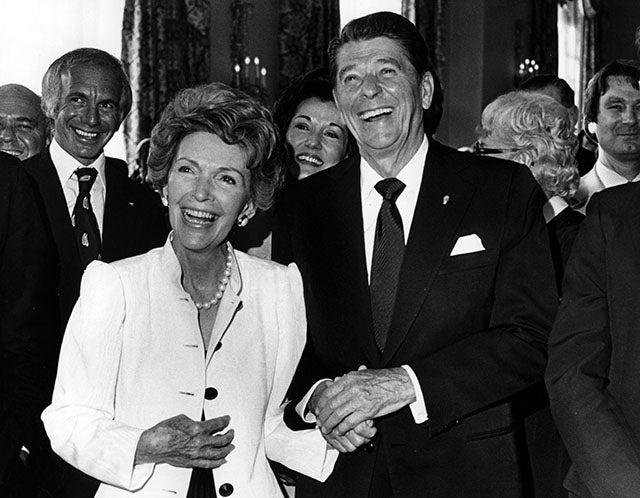40th U.S. President Ronald Wilson Reagan 1981-89