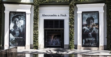 An Abercrombie and Fitch store in Los Angeles, Calif. (Photo: Newscom)