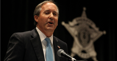 Ken Paxton, attorney general of Texas. (Photo:  John Davenport/Zuma Press/Newscom)