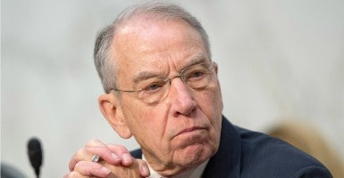 Sen. Chuck Grassley, chairman of the Judiciary Committee, wants answers about a twice-deported illegal immigrant who allegedly committed violence. (Ron Sachs/ZUMA Press/Newscom)