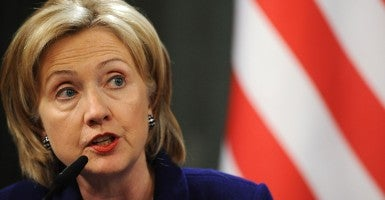 Hillary Clinton was Secretary of State during the Benghazi attacks in 2012. (Photo: Newscom)