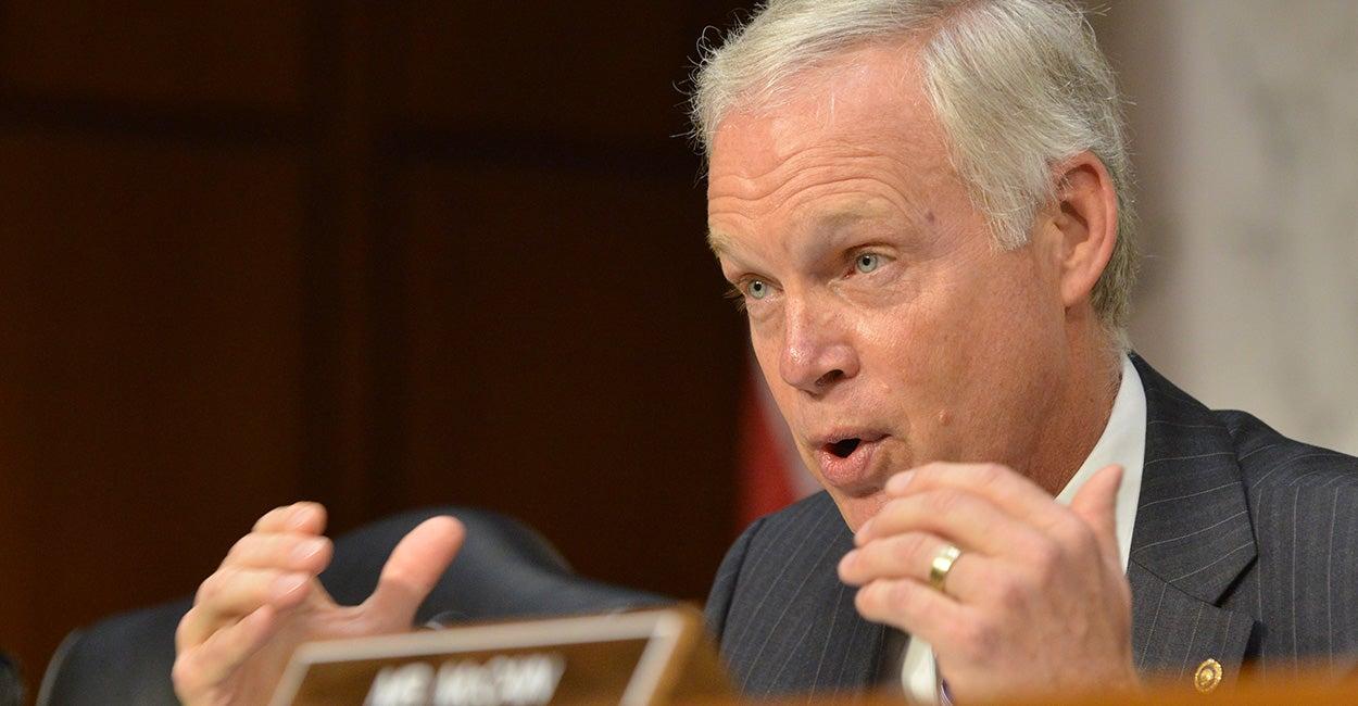 Wisconsin Sen. Ron Johnson (Photo: Newscom/Jay Mallin)
