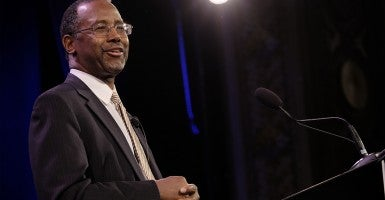 Dr. Ben Carson (Photo: Jerry Mennenga/Newscom)