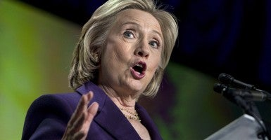 Contrary to policy?: Former Secretary of State Hillary Rodham Clinton (Photo: Brian Cahn/ZUMA Wire)