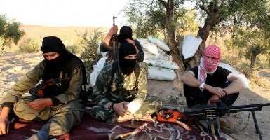 Members of the An-Nusra Front in Syria. (Photo: Newscom)