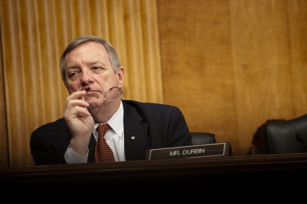 Sen. Dick Durbin, D-Ill., said he welcomed a return to a more deliberative Senate. (Photo: Newscom)