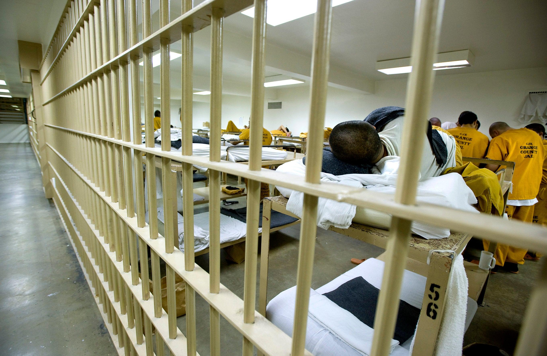 Mean behind bars